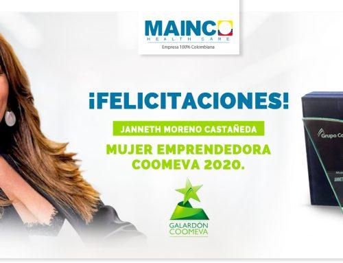 Premio Mujer Emprendedora Janneth Moreno.